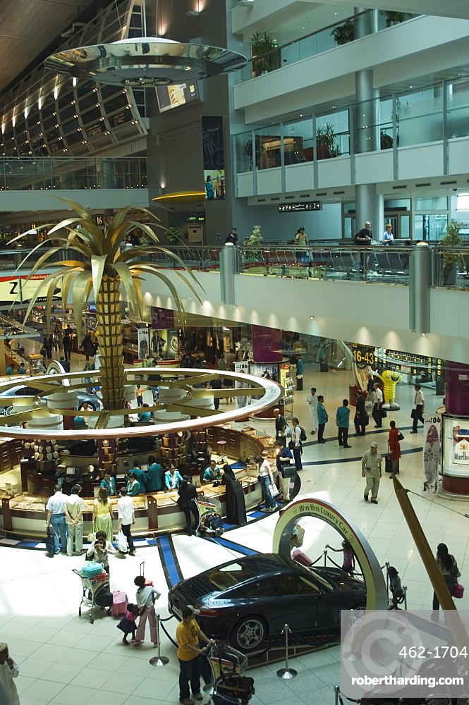 Dubai International Airport, Duty Free area, Dubai, United Arab Emirates, Middle East