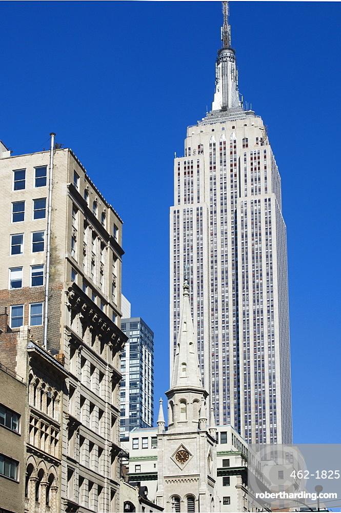 The Empire State Building, Manhattan, New York City, New York, United States of America, North America