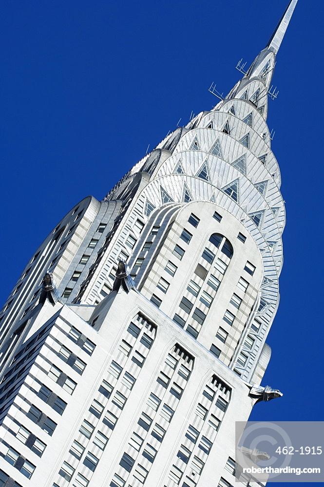 Chrysler Building, Manhattan, New York City, New York, United States of America, North America