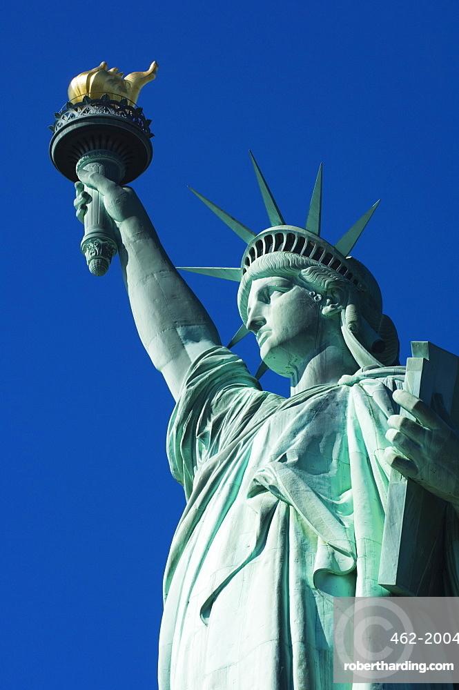 Statue of Liberty, Liberty Island, New York City, New York, United States of America, North America