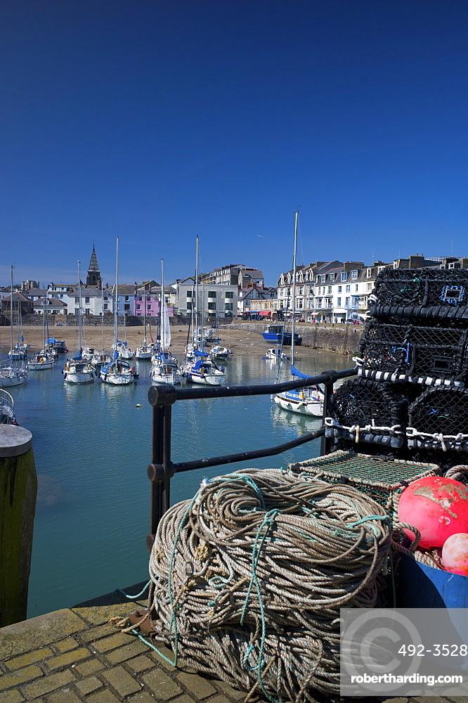 The Harbour, Ilfracombe, Devon, England, United Kingdom, Europe