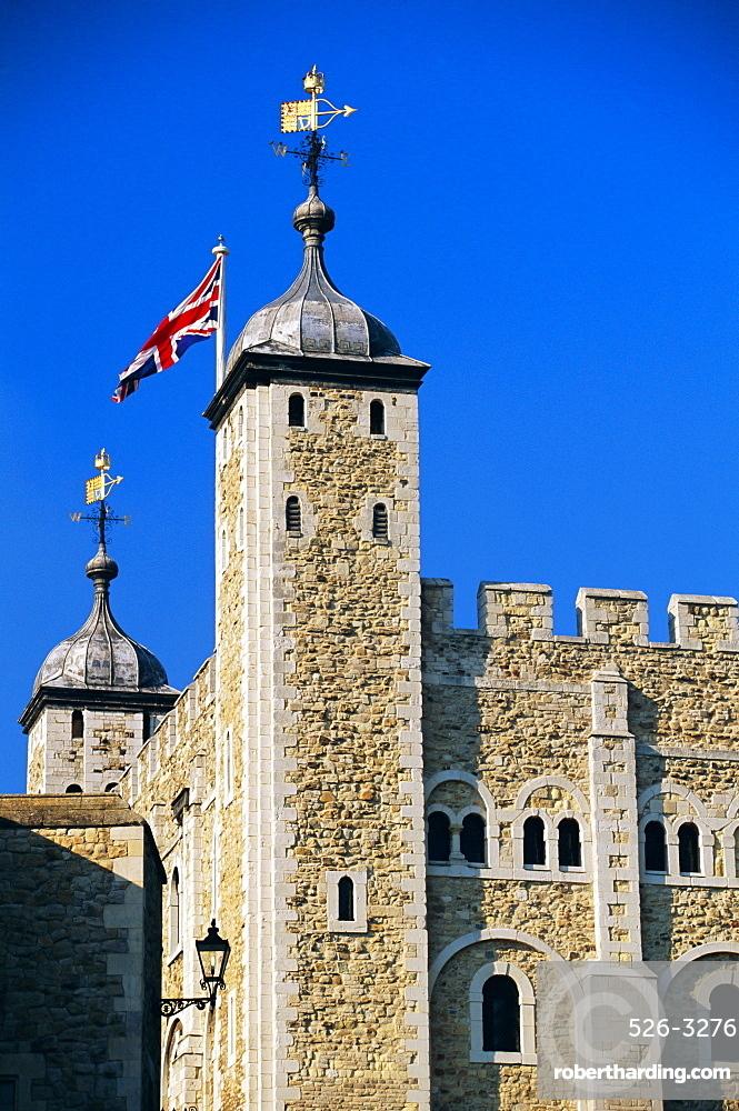 Detail, Tower of London, London, England, UK