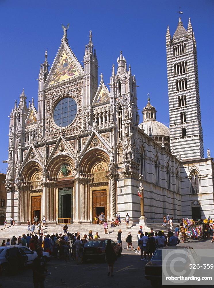 Duomo (Cathedral), Siena, UNESCO World Heritage site, Tuscany, Italy, Europe