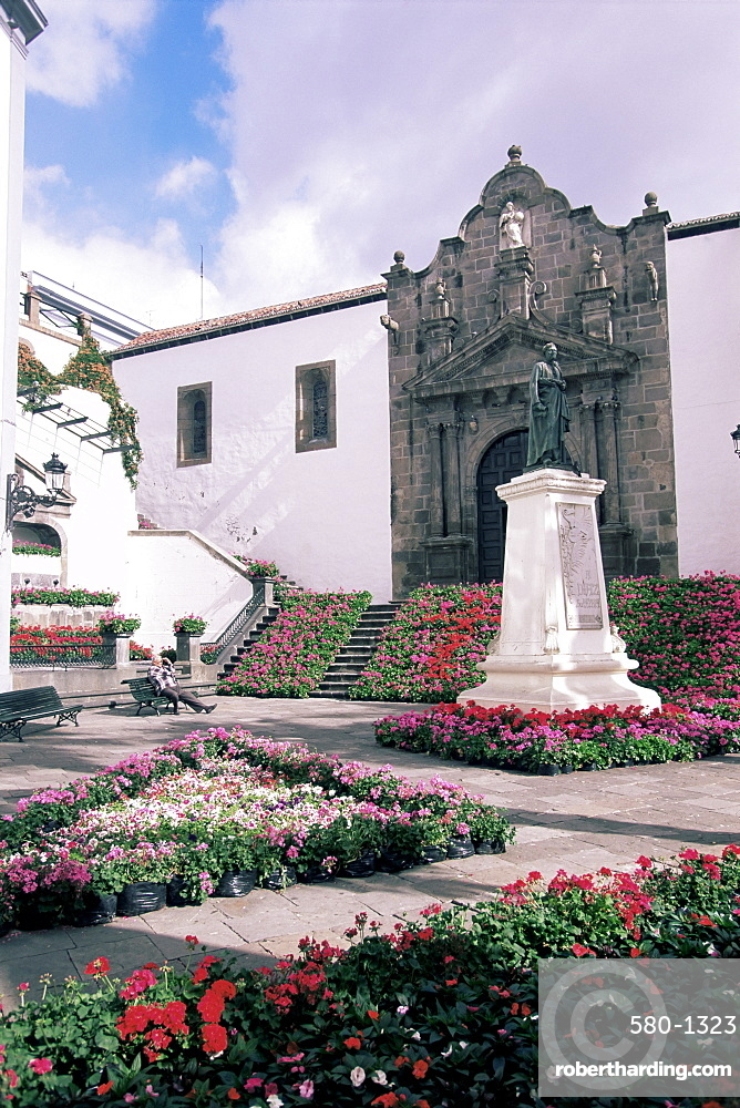 Plaza de Espana, Santa Cruz, La Palma, Canary Islands, Spain, Atlantic, Europe