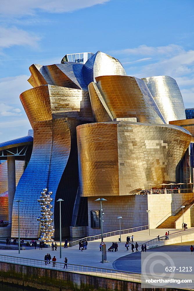 Guggenheim Museum, Bilbao, Euskadi, Spain, Europe