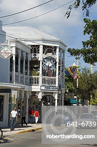 Crabby Dicks bar and restaurant, Duval Street, Key West, Florida, United States of America, North America