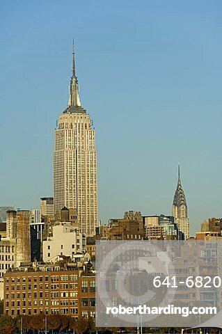 Empire State Building, Mid town Manhattan, New York City, New York, United States of America, North America