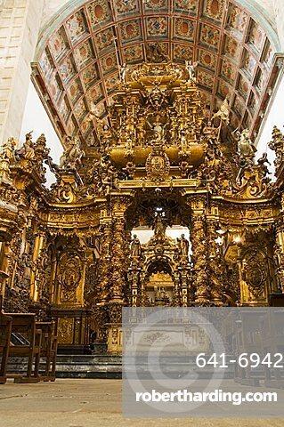 Church of San Martin Pinario, Santiago de Compostela, Galicia, Spain, Europe