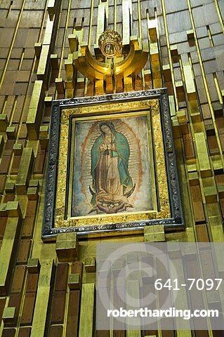 Basilica de Guadalupe, a famous pilgramage center, Mexico City, Mexico, North America