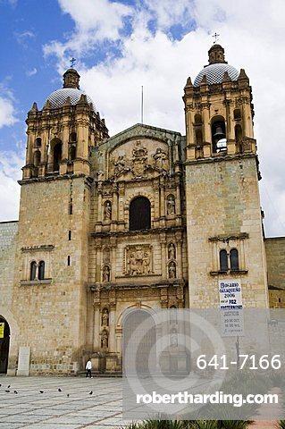 Church of Santo Domingo, Oaxaca City, Oaxaca, Mexico, North America