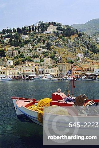 Yialos, Symi, Dodecanese Islands, Greece, Europe