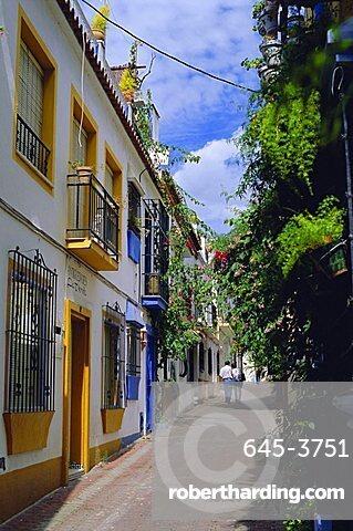 Plaza de la Victoria, Old Town, Marbella, Andalucia, Spain