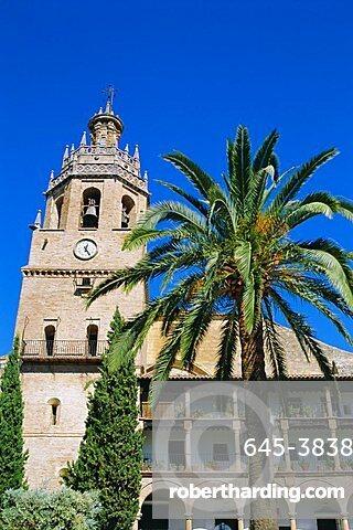 Church of Santa Maria la Mayor, Ronda, Andalucia,Spain