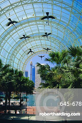 Harbourside Mall, Darling Harbour, Sydney, New South Wales, Australia