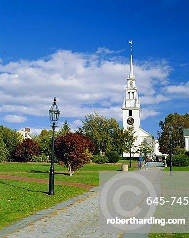 Trinity Church (1726), Newport, Rhode Island, USA