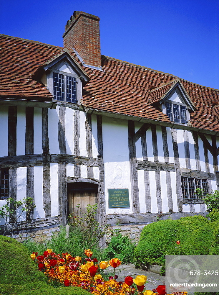 Mary Arden's House, Wilmcote, Warwickshire, England, UK, Europe