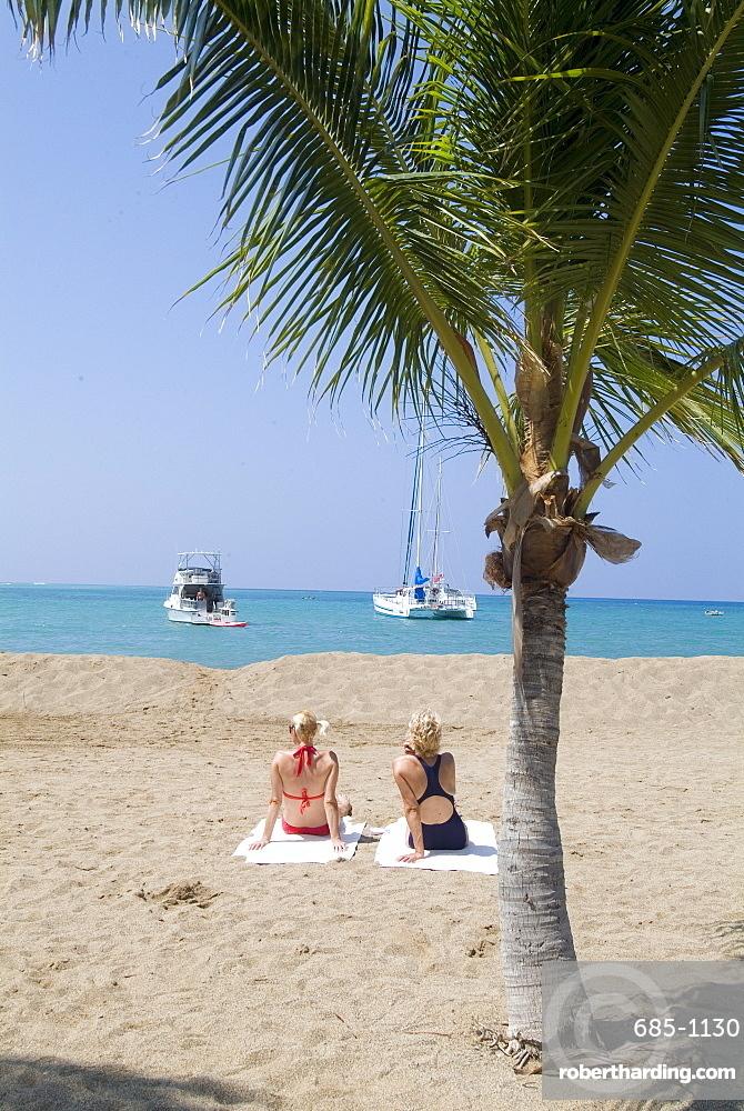 Waikaloa Beach, Island of Hawaii (Big Island), Hawaii, United States of America, Pacific, North America