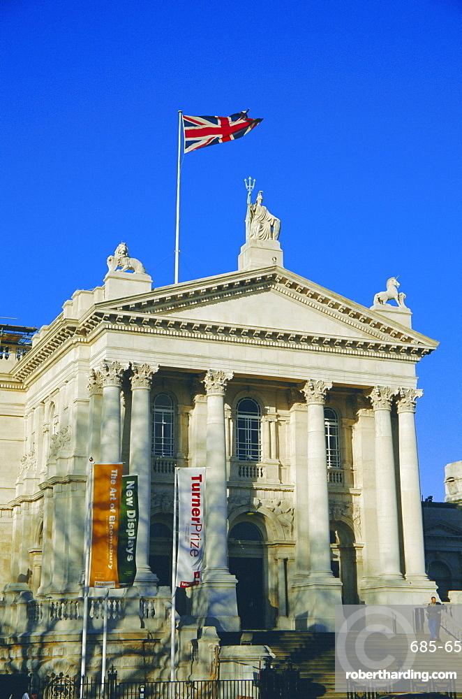 The Tate Britain Gallery, London, England, UK
