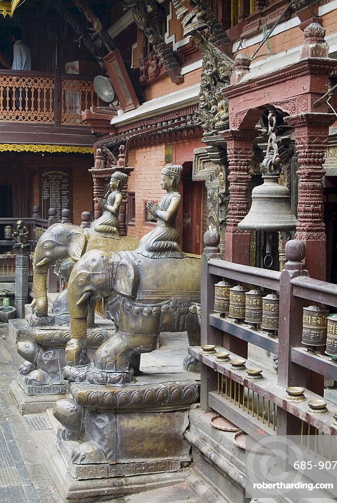 Golden Temple, Patan, Nepal, Asia