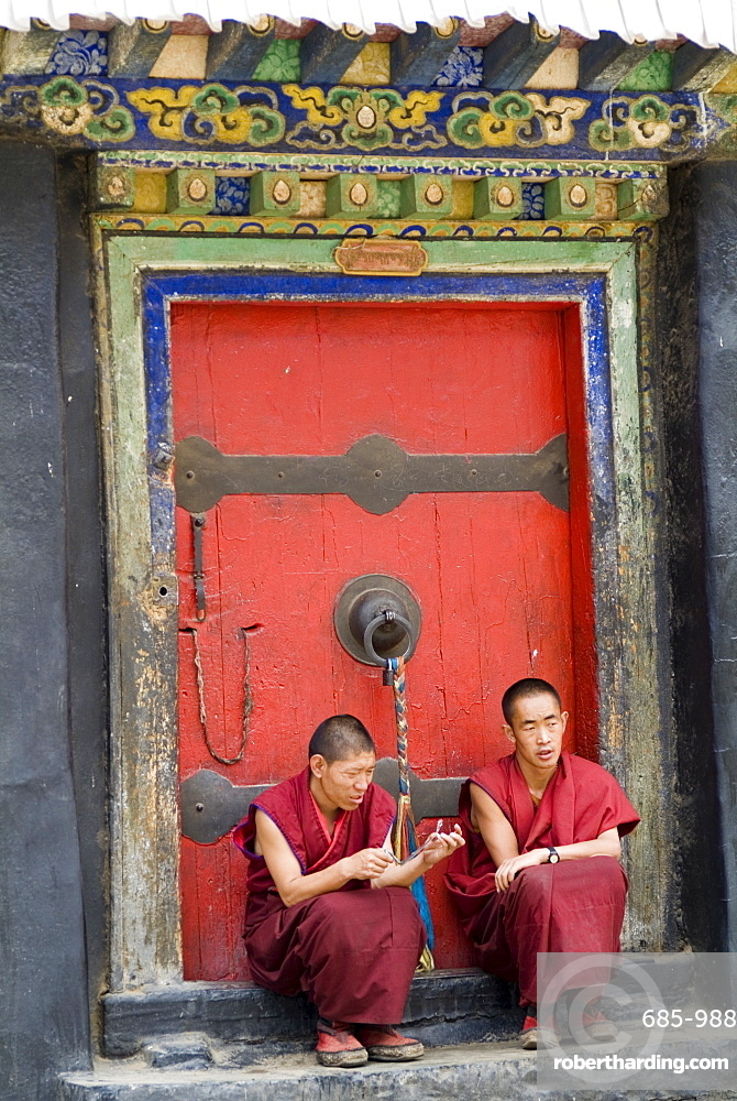 Tashilumpo Monastery, the residence of the Chinese appointed Panchat Lama, Tibet, China, Asia