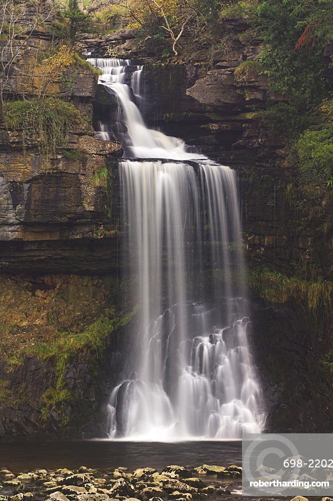 Thornton Force, Ingleton waterfalls walk, Yorkshire Dales National Park, North Yorkshire, Yorkshire, England, United Kingdom, Europe