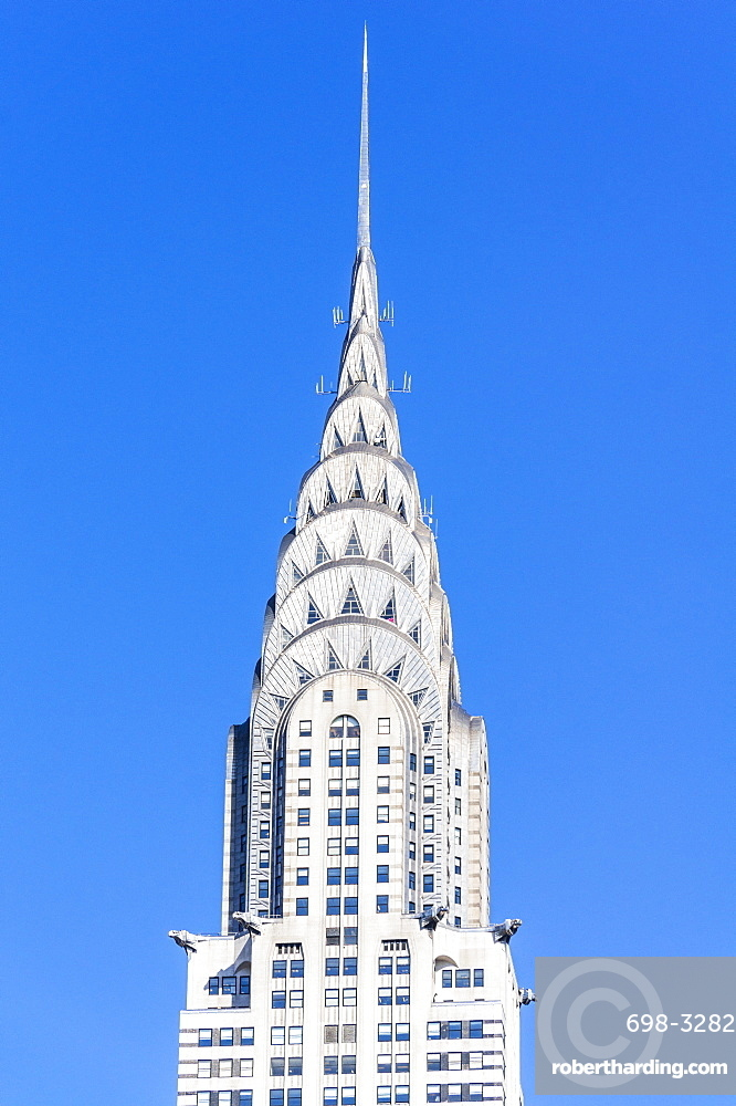 The art deco, stainless steel clad, Chrysler building, Manhattan, New York City, United States of America, North America