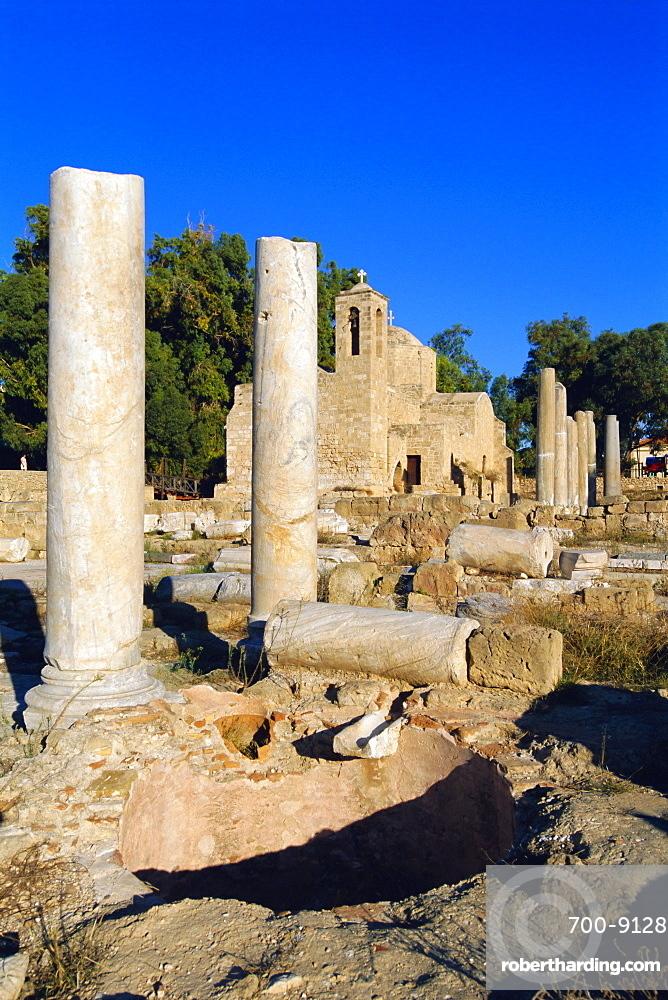 Greek TemplePaphos, Cyprus, Europe
