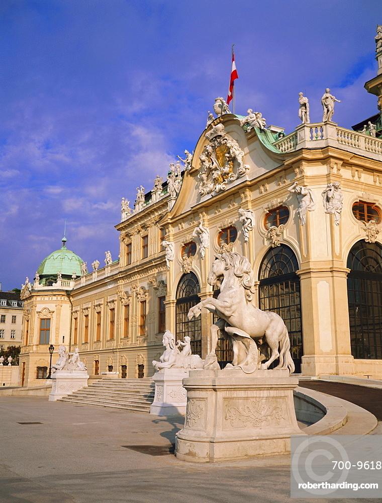 Belvedere, Castle, Vienna, Austria