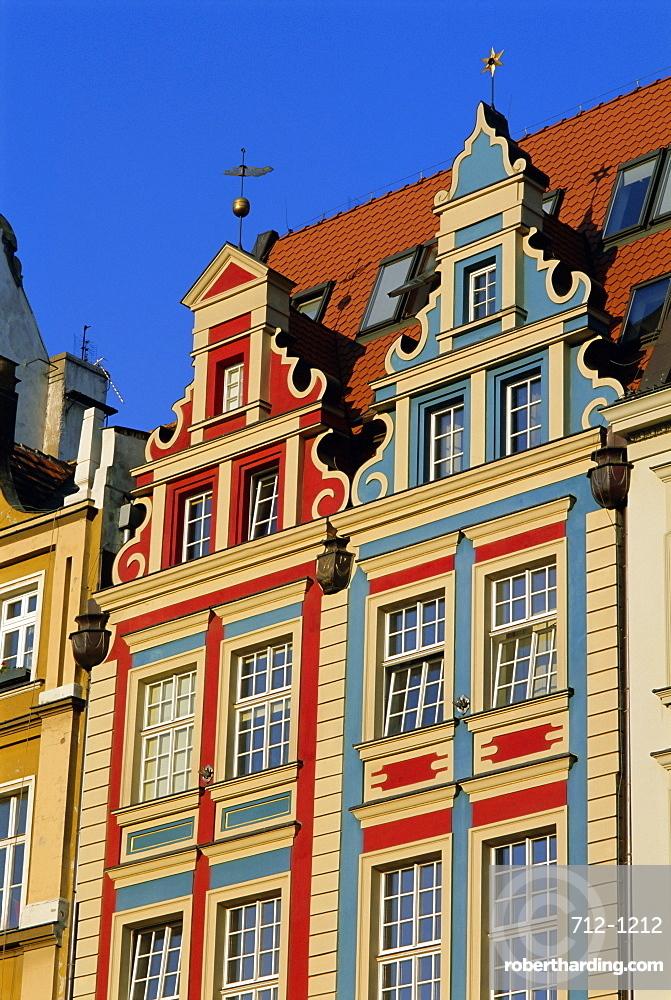 Market Square, Wroclaw (Warsaw), Silesia, Poland