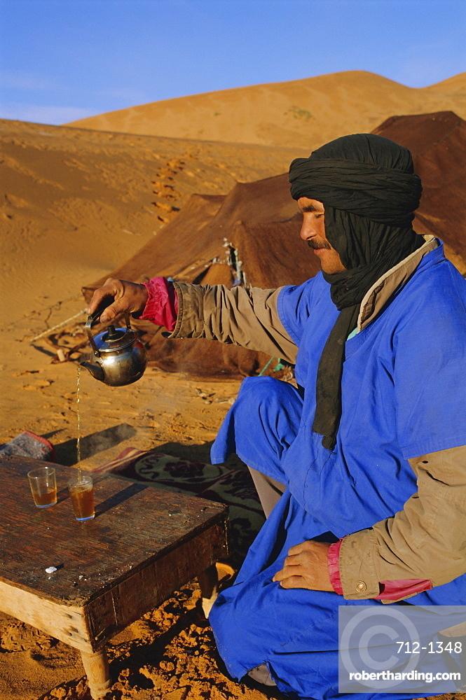 Tea ceremony, Tafilalt, Morocco, North Africa