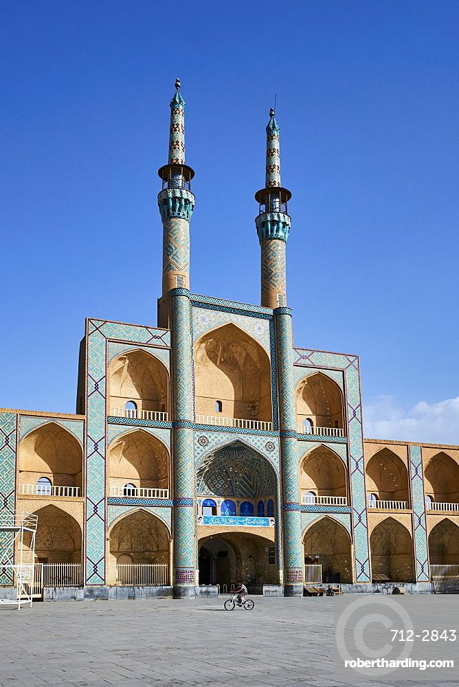 Amir Chakhmaq Mosque, Yazd, Yazd Province, Iran, Middle East