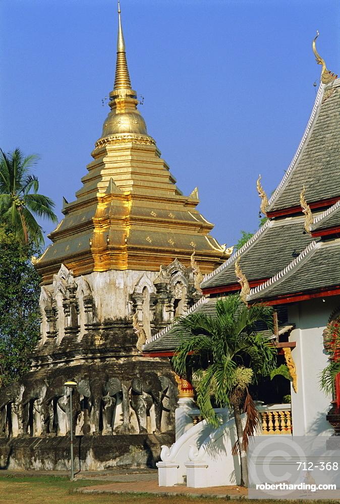 Wat Chiang Man, Chiang Mai, Thailand, Asia