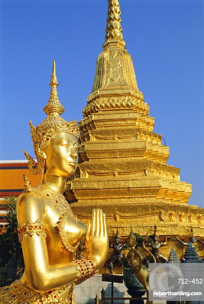 Wat Phra Kaeo, Grand Palace, Bangkok, Thailand, Asia