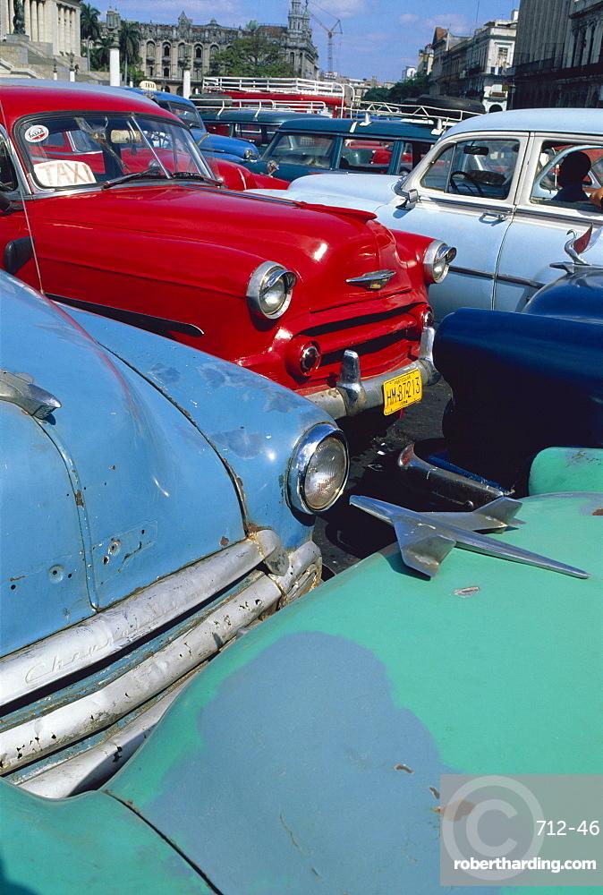 Old American classic cars, Transport, La Habana, Cuba