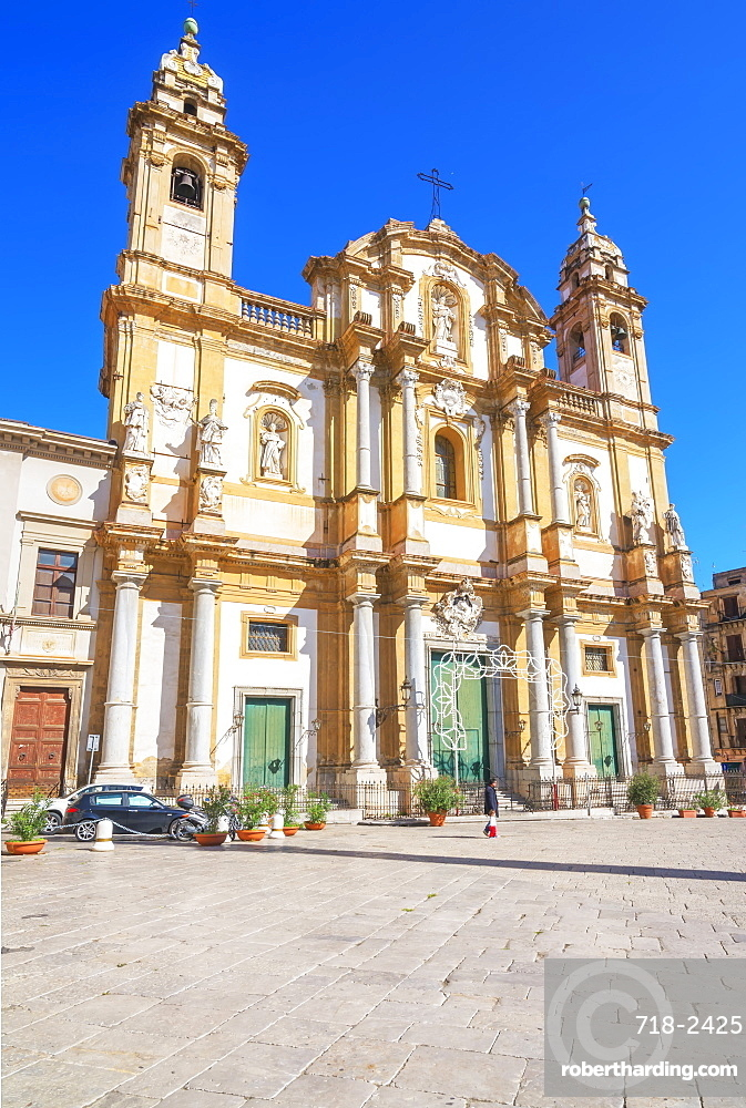 Church of San Domenico, Palermo, Sicily, Italy, Europe