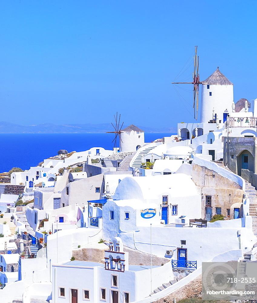 Oia village, Oia, Santorini, Cyclades Islands, Greece
