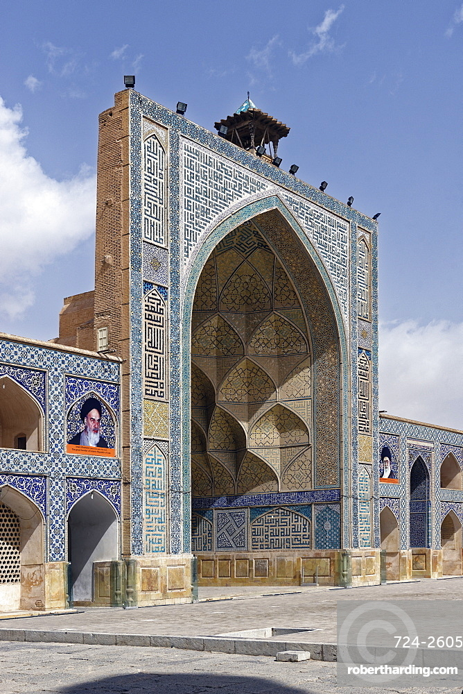 Shah Mosque (Imam Mosque), Isfahan, Iran, Middle East