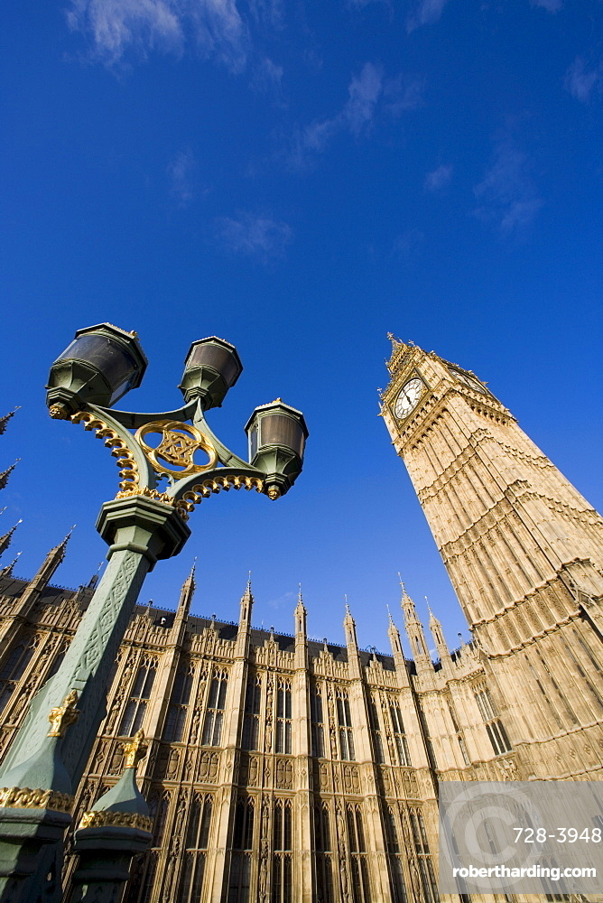 Houses of Parliament, Westminster, UNESCO World Heritage Site, London, England, United Kingdom, Europe