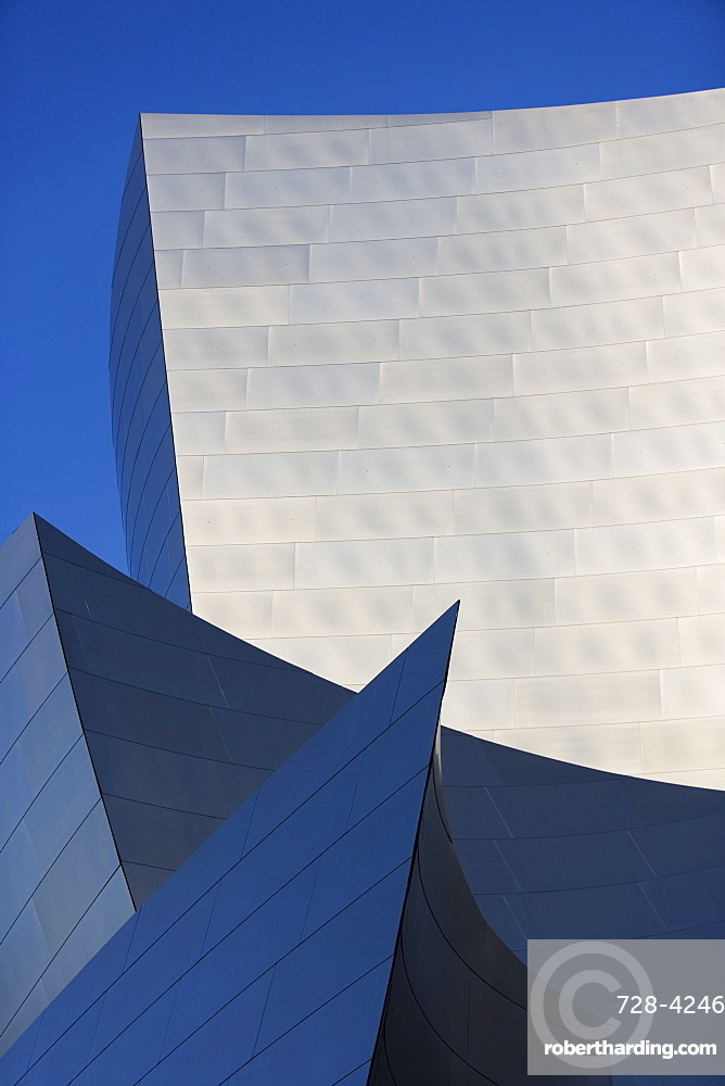 Walt Disney Concert Hall, architect Frank Gehry, Music Center, Los Angeles, California, United States of America, North America