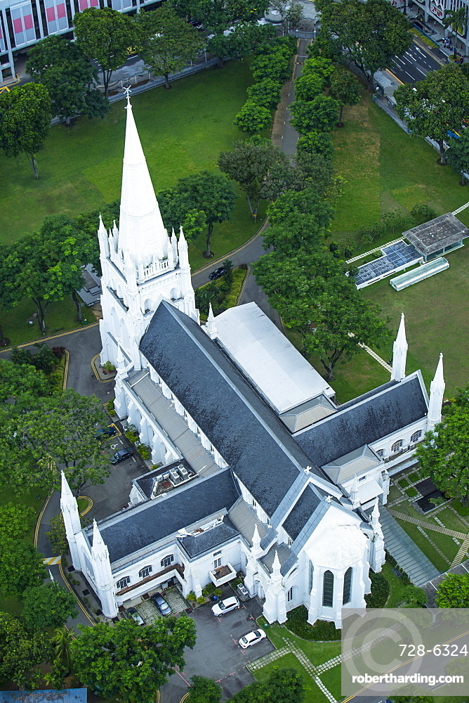 St. Andrews Cathedral, Singapore, Southeast Asia, Asia