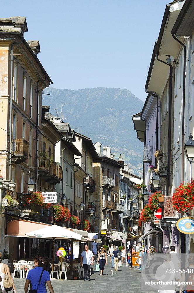 Aosta, Aosta Valley, Italy, Europe