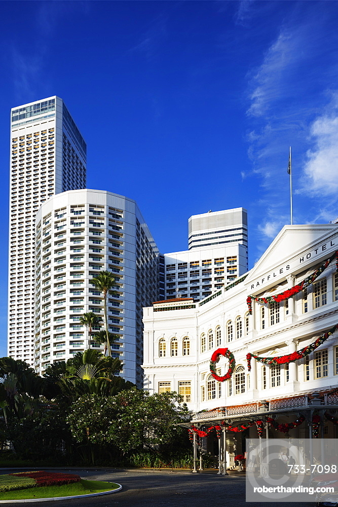 Raffles Hotel, Singapore, Southeast Asia, Asia