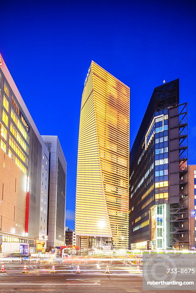 Pias building and other Ginza offices, Ginza, Tokyo, Japan, Asia
