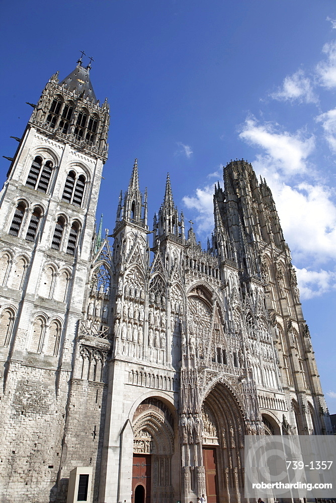 Notre-Dame Cathedral, Rouen, Normandy, France, Europe