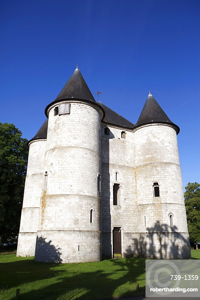 Tourelles Castle, Vernon, Normandy, France, Europe