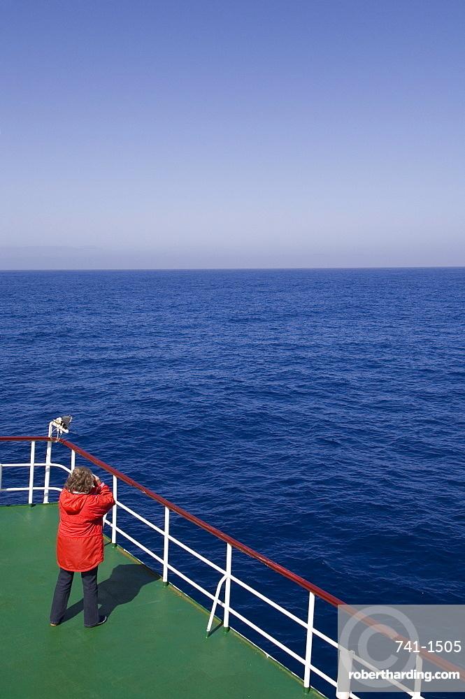 Antarctic Dream ship, Drake Passage near Cape Horn, South America