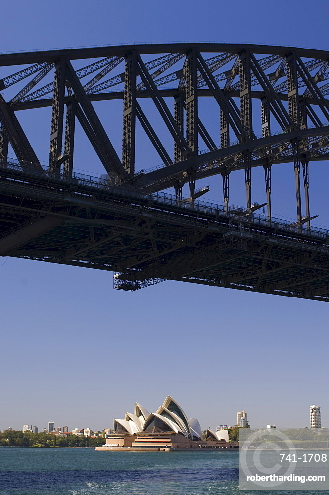 Opera House and Harbour Bridge, Sydney, New South Wales, Australia, Pacific