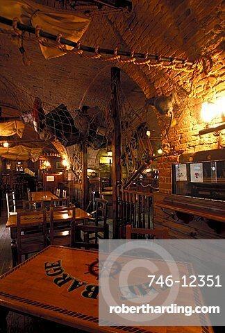 Pub the Barge, Livorno, Tuscany, Italy