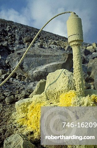 Instrument sending physical values to CNR, CNR volcanology research, Aeolian Islands, Sicily, Italy