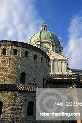 Duomo Nuovo e Duomo Vecchio, Brescia, Lombardy, Italy